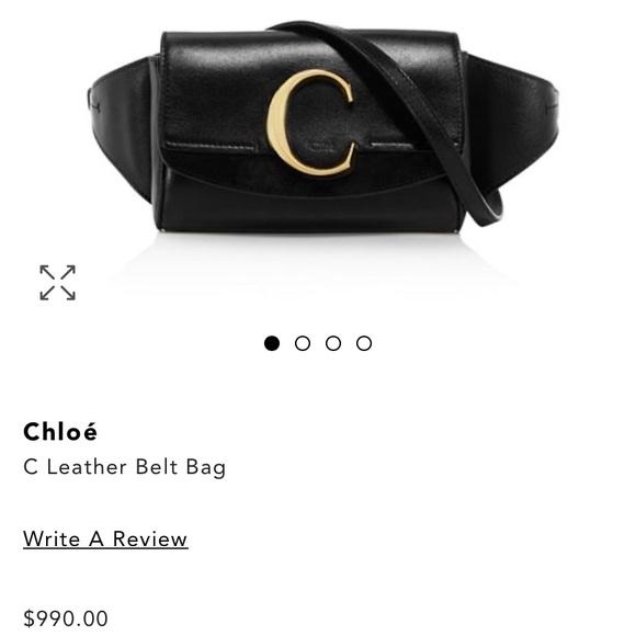 Chloe Handbags - Chloe fanny pack